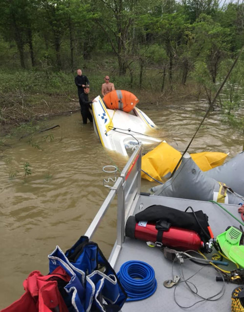 Underwater Vehicle & Water Recovery in Rush County
